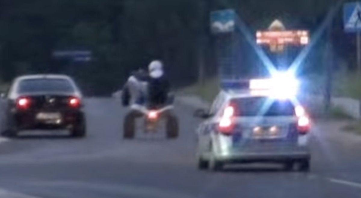 quad policja